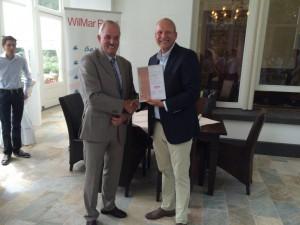 WilMar keurmerkuitreiking juli 2015