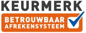 logo keurmerk betrouwbare afrekensystemen